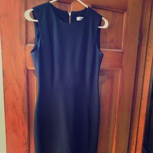 Calvin Klein Navy cocktail dress